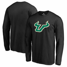Fanatics Branded South Florida Bulls Black Primary Logo Long Sleeve T-Shirt