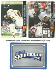 2002 MLB Showdown Pennant Run (Base) Baseball Set ** Pick Your Team **