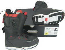 NEW!  Burton Ruler Restricted Mens Snowboard Boots!   *Black*  *Size 7.5*