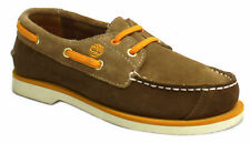 Timberland Peakisl 2 Eye Kids Boat Shoes Toddlers Youths Brown 82806 82706