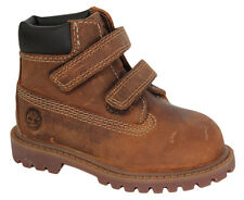 Timberland Authentic 6 Inch Toddlers Boots 2 Strap Kids Shoes Rust 80807 U3