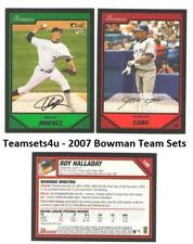 2007 Bowman Baseball Set ** Pick Your Team **