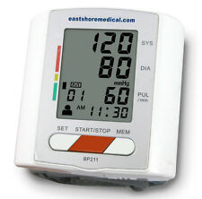 EastShore BP211 Wrist Blood Pressure Monitor with new MWI technology. FDA approv