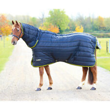 Shires Tempest 300g Combo Unisex Horse Rug Stable - Black Lime All Sizes