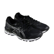 Asics Gel Surveyor 5 Mens Black Mesh Athletic Lace Up Running Shoes