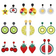 Fashion Star Heart Fruit Drop Dangle Ear Hook Earrings Women Jewelry Party Gift