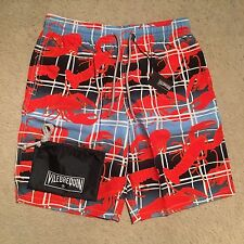 Vilebrequin Okoa Lobster Swim Shorts / Trunks - Bleu Size M-XXXL RRP: £180.00