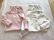 CARTER'S GIRL'S 2 PIECE LAYETTE OUTFITS GOWNS NWT PREEMIE  BUNNIES