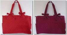 BELVAH RETIRED DIAPER BAGS W Changing Pad Red or Burgundy w White Stitching NWT