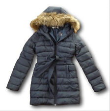 NWT Hollister by Abercrombie Scripps Pier Parka Puffer Jacket Coat Navy XS/S/M