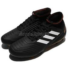 adidas Predator 18.3 FG Black Red White Firm Ground Cleats Soccer Shoes CP9301