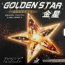 KTL GOLDEN STAR Fast Attack Pips in Table Tennis Rubber with sponge