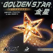 KTL GOLDEN STAR LOOP Pips in Table Tennis Rubber with sponge