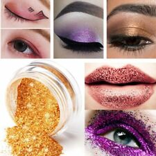 2PCs Makeup Loose Powder Glitter Profession Eyeshadow Beauty Eye Shadow Pigment