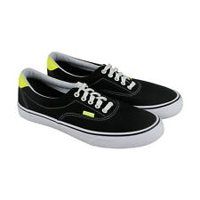 Vans Era 59 Mens Black Canvas Lace Up Sneakers Shoes