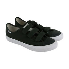 Vans Style 23V Mens Green Canvas Strap Strap Sneakers Shoes