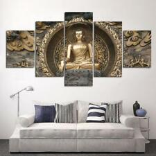 Modern Buddha Canvas Prints Painting Art Wall Picture for Bedroom Wall S / L