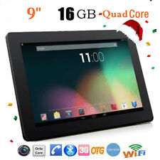 9'' HD Android 4.4 Tablet PC 1+16GB Quad Core Dual Camera WIFI 3G Phablet OTG US