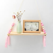 Wall Hanging Wooden Shelves Floating Wall Shelf Home Storage Display Shelf