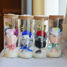 DIY Decoration Flowers preserved in glass roof Wedding Centerpiece 4 Colors