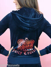 Juicy Couture Velour  Tracksuit Hoodie Pants Track Iconic Crown Sweats Small