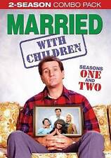 MARRIED WITH CHILDREN - Seasons 1 and 2 + (DVD) BRAND NEW IN SHRINKWRAP!
