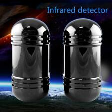 100m Sensor Alarm Dual Beam Photoelectric Infrared Detector for Home Security #M
