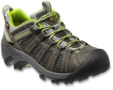 New Keen Womens Voyageur Leather Hiking Walking Athletic Support Low Shoes 8