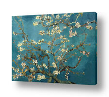 READY TO HANG CANVAS Almond Blossom Vincent Van Gogh Framed Paintings Giclee