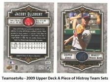 2009 Upper Deck A Piece of History Baseball Set ** Pick your Team **