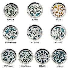 Stainless Car Air Vent Freshener Essential Christmas Oil Diffuser Clips KZ#02