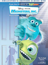 Monsters, Inc. (DVD, 2002, 2-Disc Set, Collectors Edition) NEW Sealed