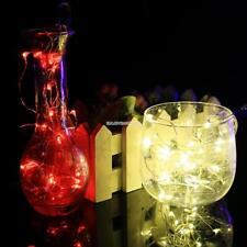 New 5M 50 LED String Light Battery Operated Wedding Party Christmas EN24H 03