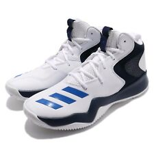 adidas Crazy Team II 2 Hi White Blue Navy Men Basketball Shoes Trainers CQ0837