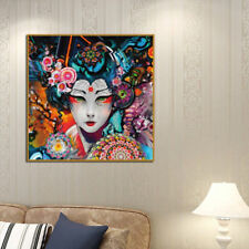 Canvas Frameless Beauty Picture Colorful Oil Painting Huge Wall Art Home Decor