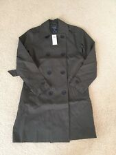 NWT Abercrombie & Fitch Womens Classic Trench Coat Oliver Size: Small & Medium