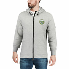 adidas Portland Timbers Gray Ultimate Worn French Terry Full-Zip Jacket