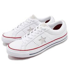 Converse One Star Leather White Red Blue Men Women Shoes Sneakers 160624C