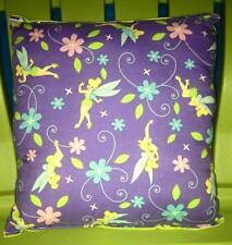 Tinker Bell Pillow Fairy Pillow HANDMADE In USA , Toddler , Travel , Daycare NEW