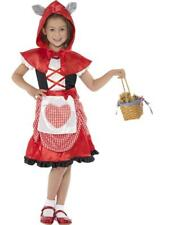 Girls Little Red Riding Hood Fancy Dress Costume / Outfit Book Week