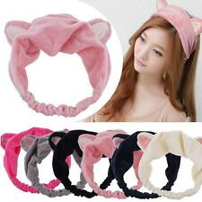 Cat Ears Hairband Head Band Party  Headdress Hair Accessories Makeup Tools #MC
