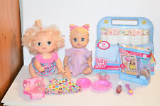 Mixed lot Baby Alive Dolls Clothes Diapers etc...