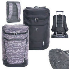 "Hedgren Connect Bond L 15"" Laptop Backpack w charger and rain cover- for men"