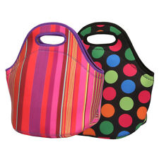 Neoprene Lunch Tote Bag Insulated Waterproof Lunch Box for Women Adults Kids Bag