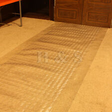 10ft Heavy Duty Vinyl Plastic Carpet Protector Runner Office Hallway Film Mat