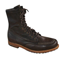 Timberland Boot Company Mens Lace Up Boots Dark Brown Leather 4032R OPP D1