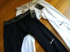 NWT, $32. Mens Nike Dri Fit / Dry Compression Base Layer Tights Pants # 904667