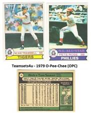 1979 O-Pee-Chee (OPC) Baseball Set ** Pick Your Team **