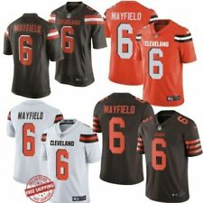 2019 New Baker Mayfield #6 Cleveland Browns Men's Jersey stitched Free Shipping