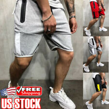 Men's Summer Casual Gym Fitness Jogging Running Workout Sweatpants Shorts Pants